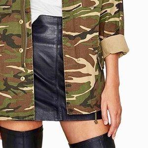 Camo Army Green Utility Jacket